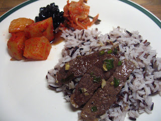 Pulgogi (Korean Broiled Beef) by Ng @ Whats for Dinner?