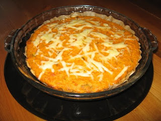 Mashed Carrot and Dal Pie with an Almond Crust by ng @ Whats for Dinner?