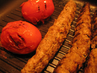 Kabab and Tomatoes by ng @ Whats for Dinner?