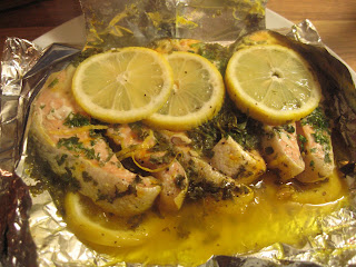 Saffron Salmon by ng @ Whats for Dinner?