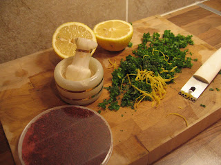 Saffron, Lemon and Herbs by ng @ Whats for Dinner?