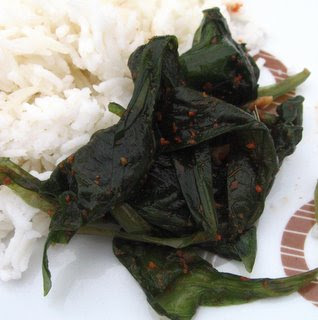Wild Garlic Kimshi by Ng @ Whats for Dinner?