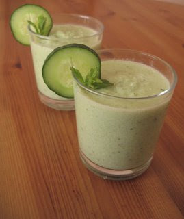 Cucumber Raita Gazpacho by Ng @ Whats for Dinner?