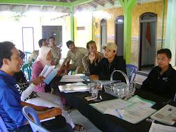 Kegiatan Audit Silang Antar kecamatan ke Kec. Maron