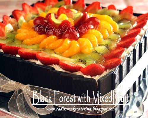 Untuk Cakenya Pake Sponge Cake Resep Black Forest Ncc Karena