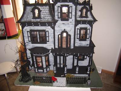 c&g design: the adams family dollhouse