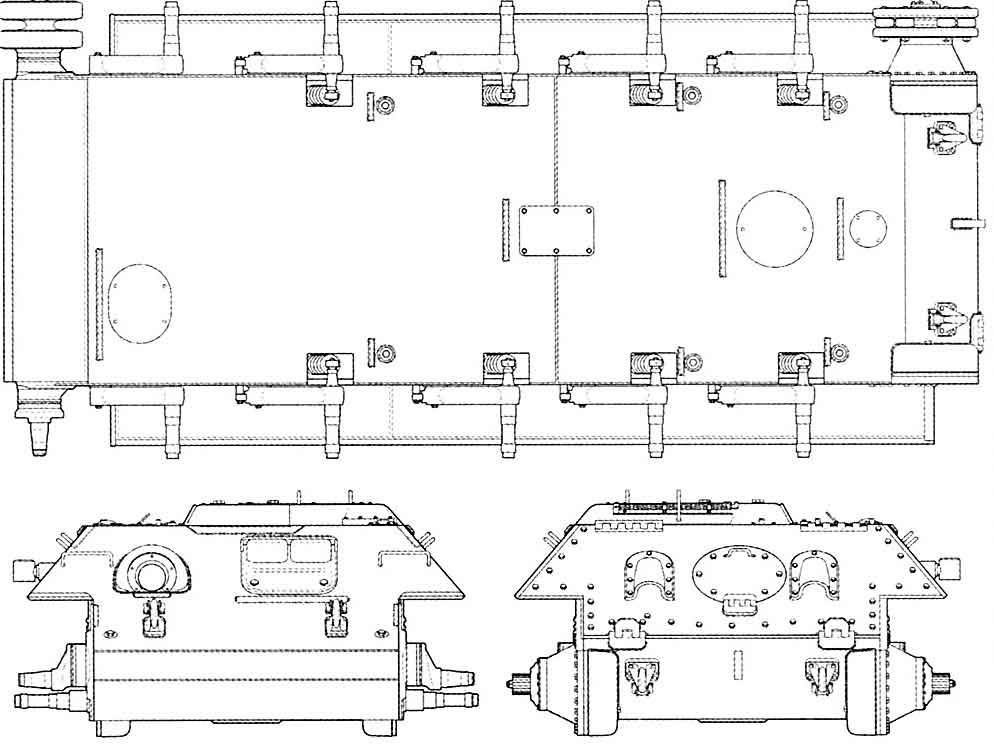 корпус Т-34-85 завода №112.