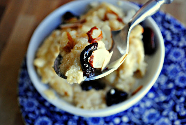 Creamy Wheat Cereal with Fruit & Nuts l SimplyScratch.com