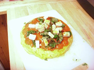 roasted cherry tomato tarte tatin