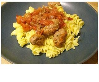 pasta with italian sausage sauce