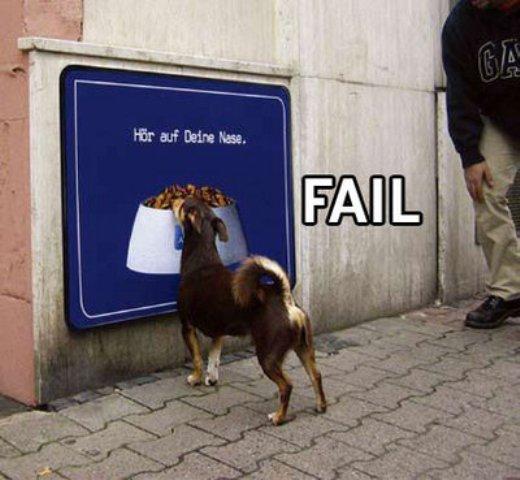 Vamos dar Risada? =] Fail-dogfood