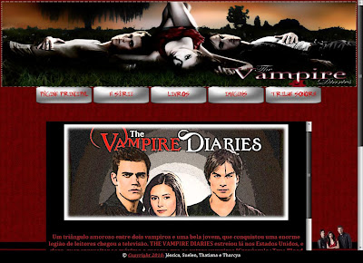 ~* Clique Aqui Para Visitar o Site THE VAMPIRE DIARIES *~