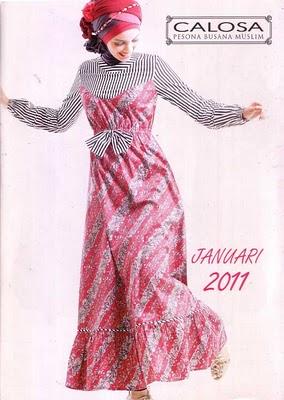 Butik Muslim Munna: Calosa edisi Januari 2011