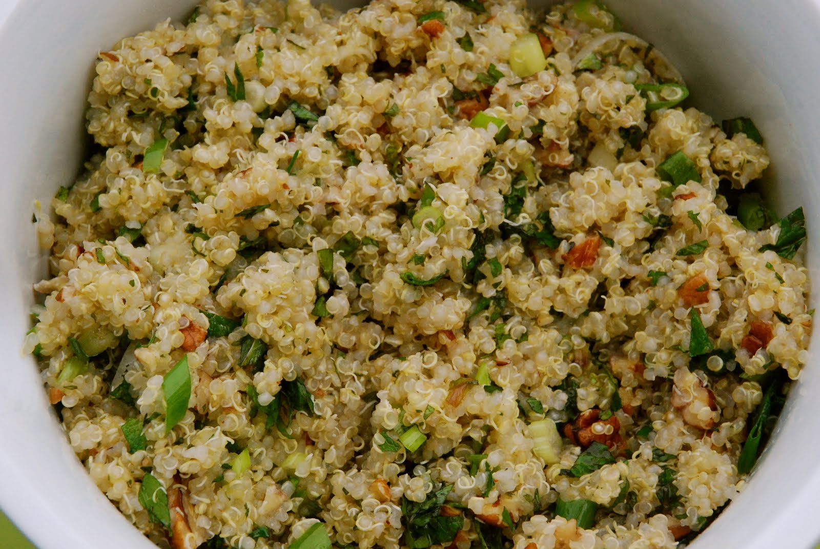 Lemony Quinoa Recipe — Dishmaps