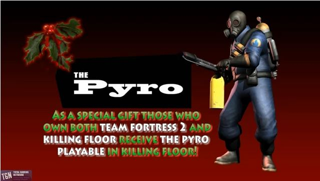 ... Owns Or Purchases Killing Floor Before The End Of The Event Will  Recieve Mr Fosteru0027s Gas Mask And Tie, Which Is Equippable On The Pyro  Character.