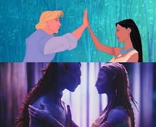 Avatar le copio a Pocahontas