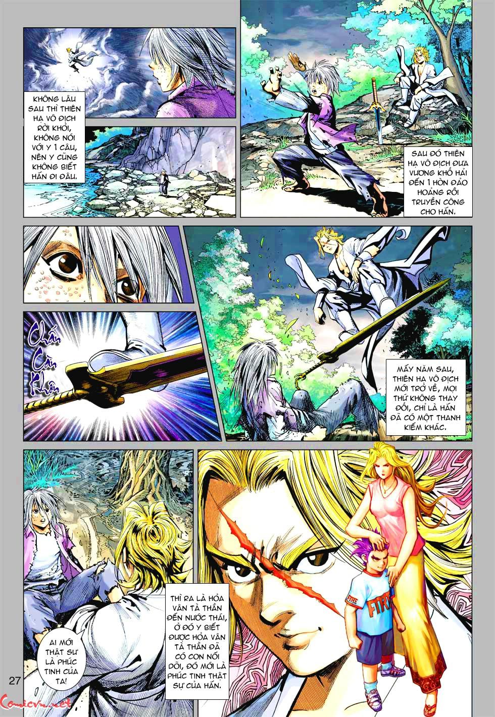 Vương Phong Lôi 1 chap 37 - Trang 18