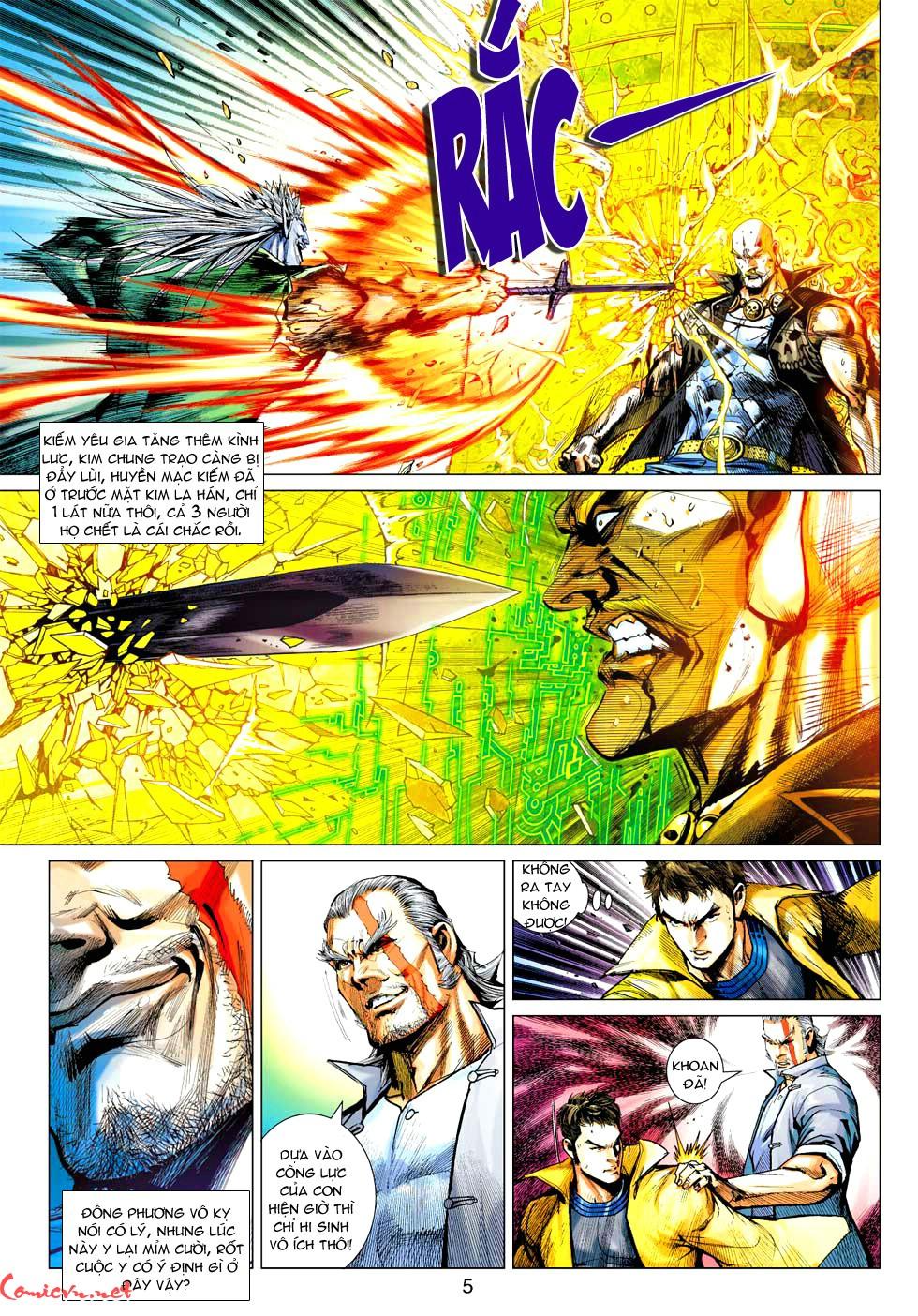 Vương Phong Lôi 1 chap 37 - Trang 25