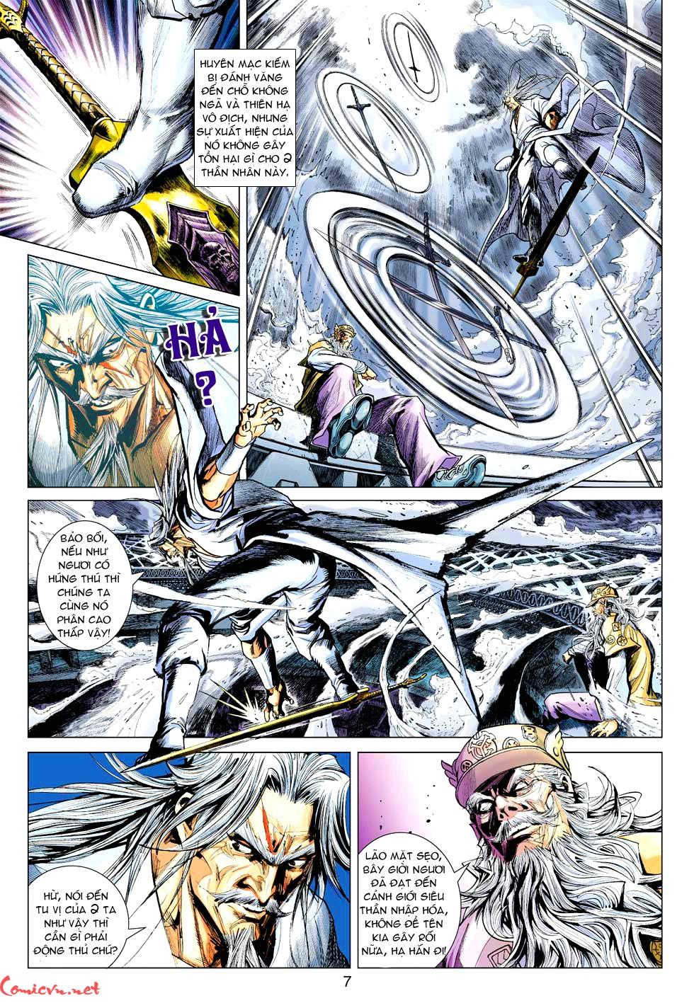 Vương Phong Lôi 1 chap 37 - Trang 27