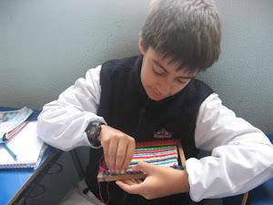 """"""" Textiles en clases de Quinto """""""