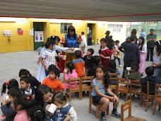 """"""" Profesora Marjorie y sus alumnos, compartieron en jardín infantil """""""