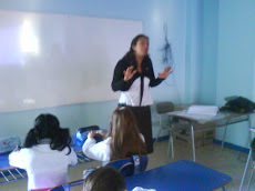 Profesora Jazmín , recibió a su nuevo curso...