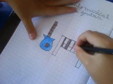 Dibujan cantando...
