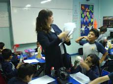 Profesora Cristina, instaura nuevos instrumentos de Evaluación...