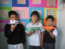 Niños de Tercero C y sus juguetes