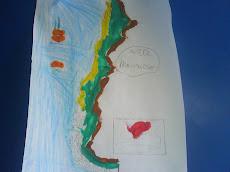 Chile en el diseño de un niño...
