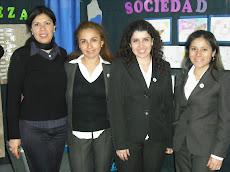 Profesoras a cargo del Proyecto Chile Líder...