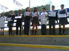 Alumnos y alumnas del Primer Ciclo...
