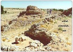 صورة لمنطقة سمهرام الاثرية قرب مدينة طاقة