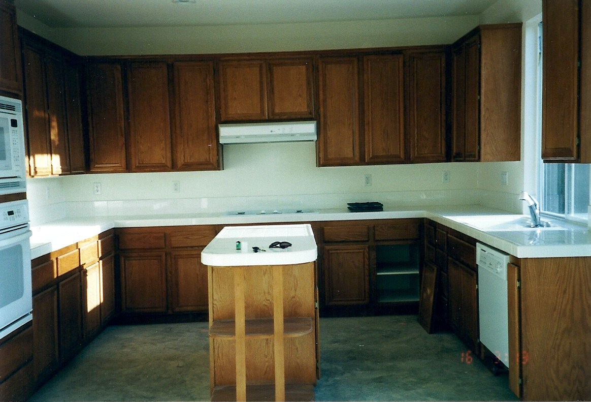 Adding height to your kitchen cabinets for Adding new cabinets to existing kitchen