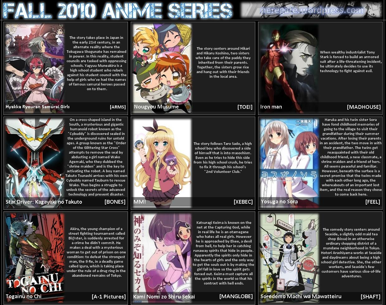 2010 fall anime hentai