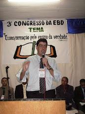 Ev. Fernando Araujo - criador deste blog