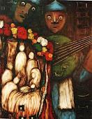 Salve o Oratório, 1999 acrílica sobre tela 1.00 x 0.80