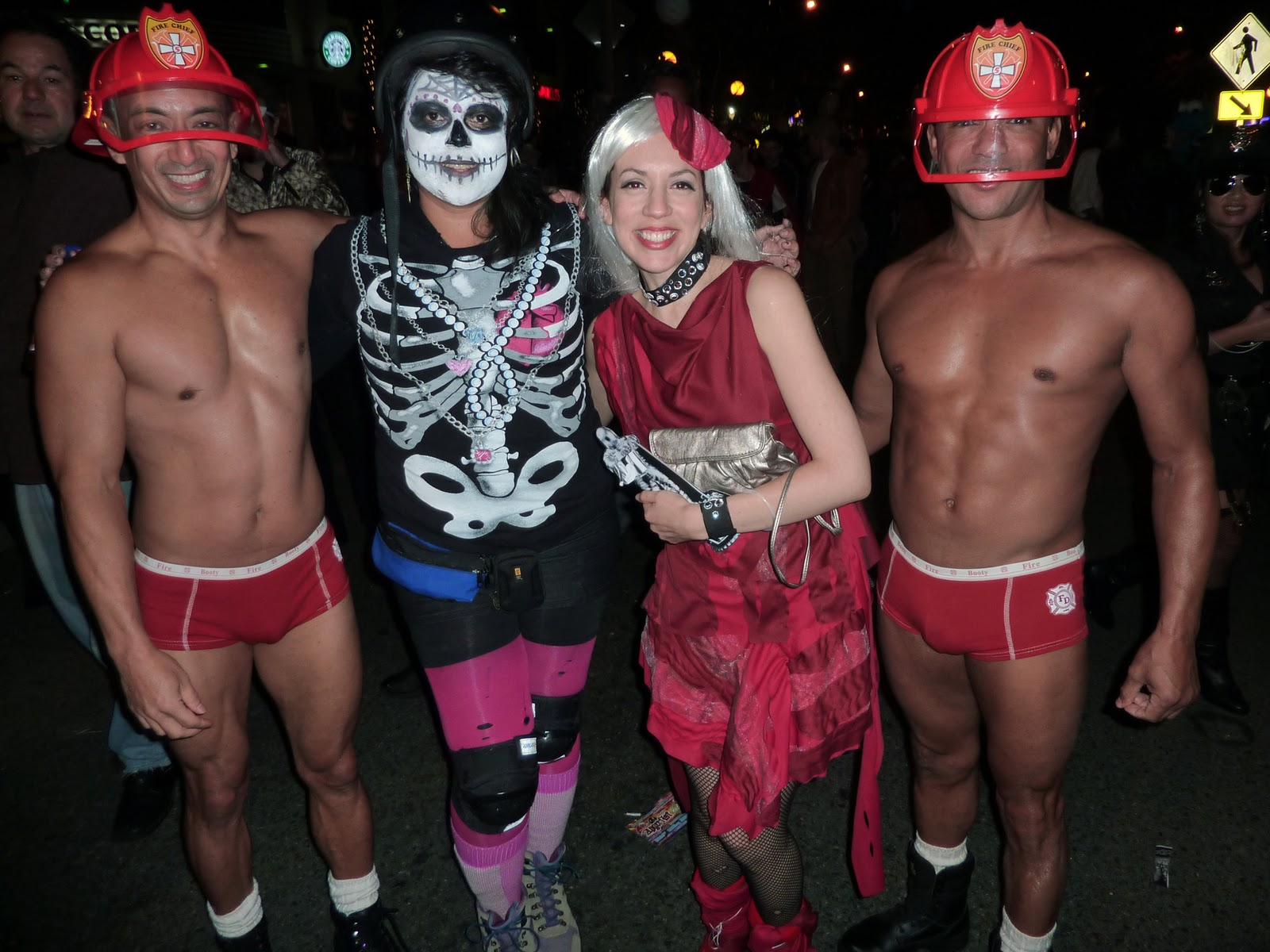 made by l'moore: Halloween in West Hollywood...