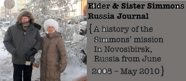 Elder & Sister Simmons Russia Journal