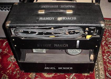 randy rhoads amplificatore