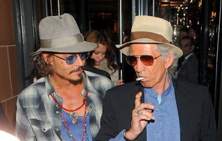 johnny depp keith richards