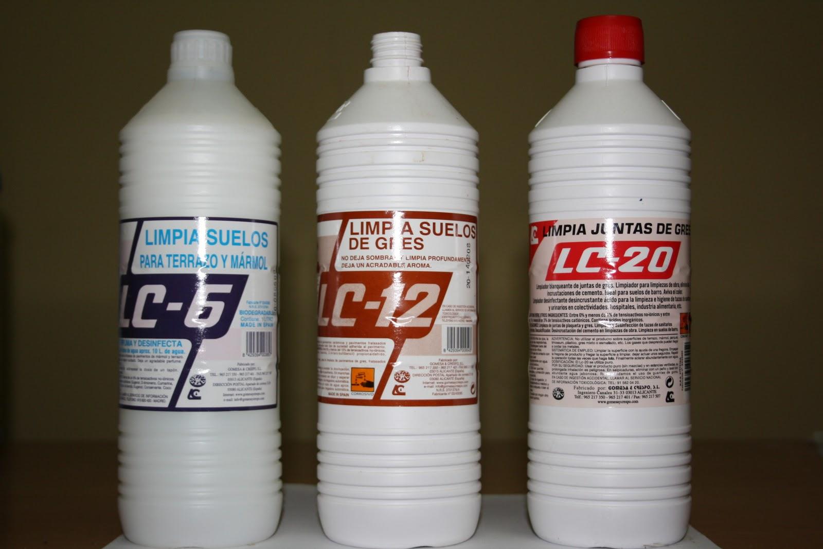 Limpiezas cerrato s l gama de productos for Cera para pisos de marmol
