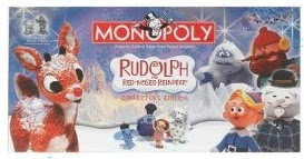 Christmas Gift Ideas-Rudolph the Red Nosed Reindeer Monopoly