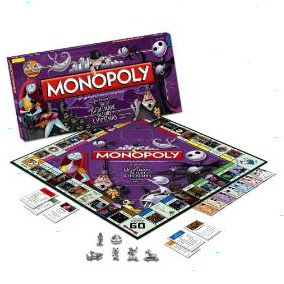 Christmas Gift Ideas-Nightmare Before Christmas Monopoly Game