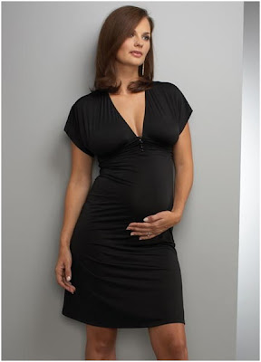 Fashion Tips for Being Stylish Pregnant Mom-V neck clothes