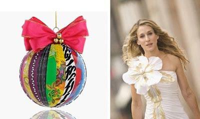 Sarah Jessica Parker Christmas Ornament
