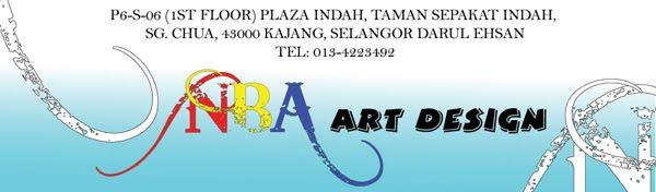 Nba art design for Mural untuk taska