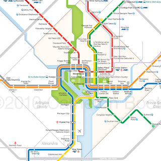 Un DC Metro: Finally, a Worthy, New Metro Map Dc Subway Map on