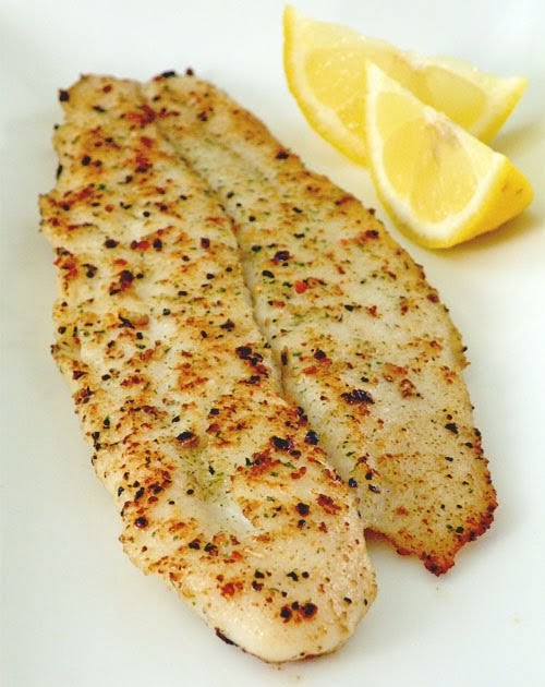 The palate pleaser pan fried fish fillet for Pan fried fish fillet recipes