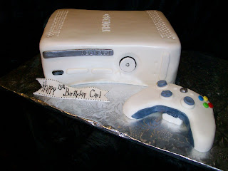 Birthday Cakes Xbox 360 ~ A counselor s confections xbox birthday cake